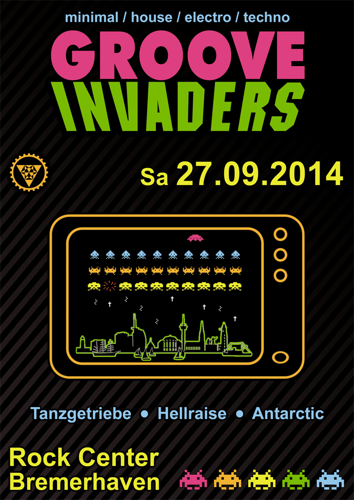 Groove Invaders - 27.09.2014