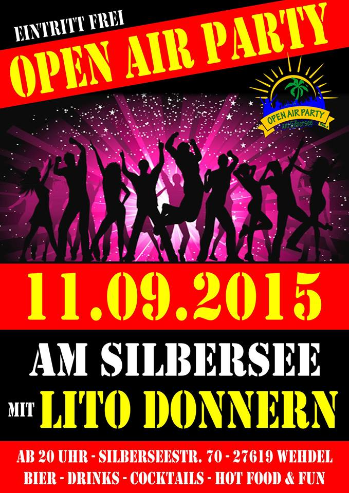 Open Air Party @ Silbersee