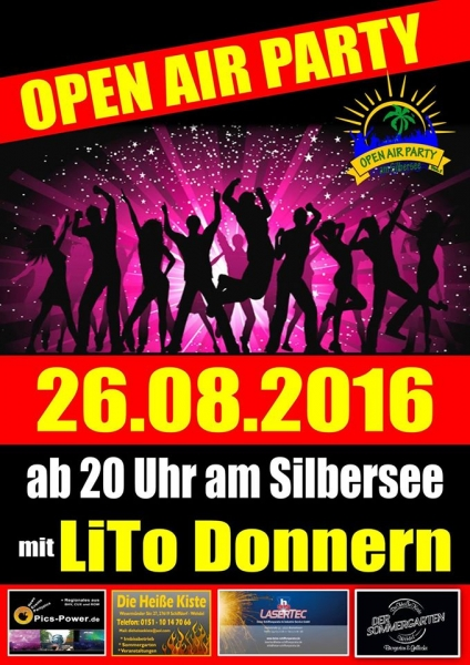Open Air Party Am Silbersee 2016