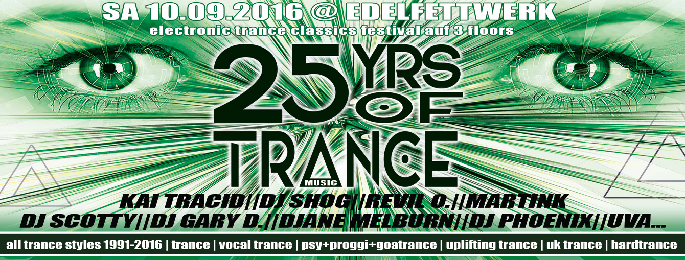 25 Years Of Trance