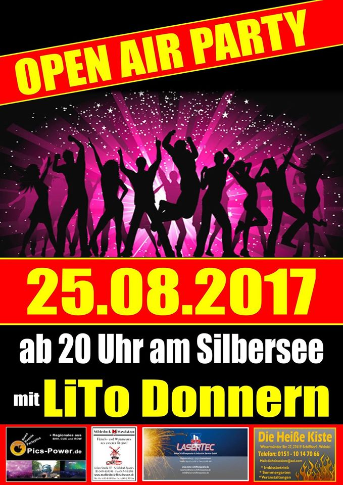 Open Air Party Am Silbersee 2017