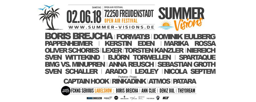 Summer Visions Festival 2018