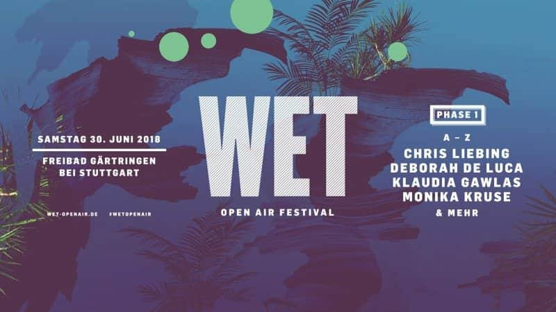 WET Open Air Festival 2018