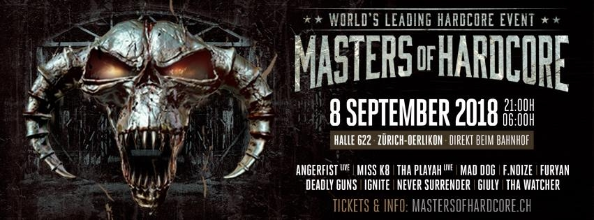 Masters of Hardcore 2018 Switzerland