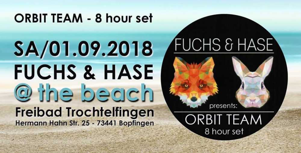 Let´s go to the beach Fuchs&Hase