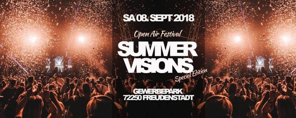 Summer Visions Open Air Festival - Special Edition